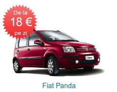 Fiat Panda de la 18 EURO pe zi