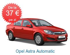 Opel Astra Automatic de la 37 EURO pe zi